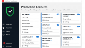 Bitdefender Total Security 2020 Build 24.0.3.15 Crack